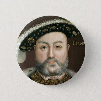 König Henry VIII Runder Button 5,7 Cm