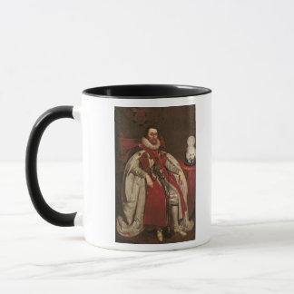 König James I von England und VI von Schottland, Tasse