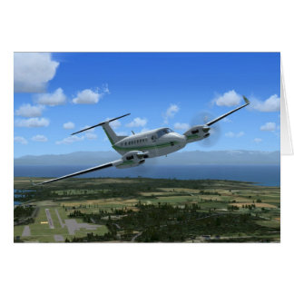 König-Luft Turboprop-Triebwerk Flugzeuge Karte