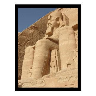 König Ramses Abu Simbel Ägypten Postkarte
