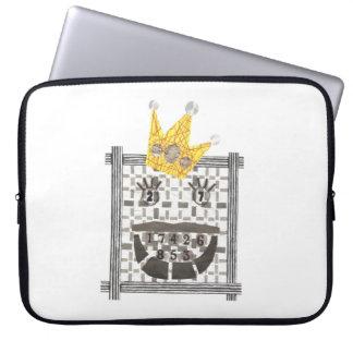 König Sudoku 15 Zoll-Laptop-Hülse Laptop Sleeve