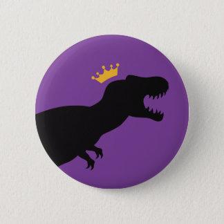 König T-Rex Runder Button 5,7 Cm