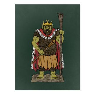 König Troll Postkarten