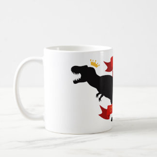 Königin der Dinosaurier Kaffeetasse