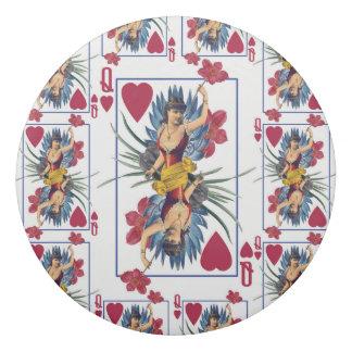 Königin der Herzen und der Blumen Radiergummi 1