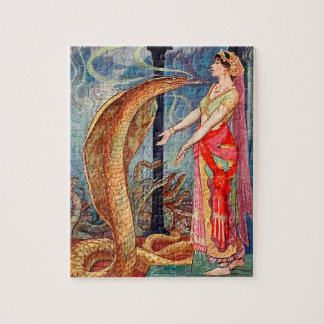 Königin der Schlangen Puzzle