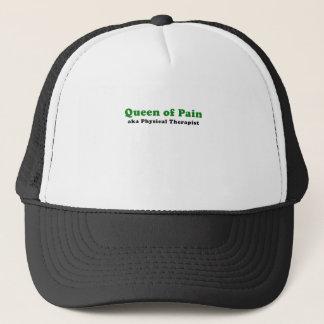 Königin des Schmerz-alias körperlichen Therapeuten Truckerkappe