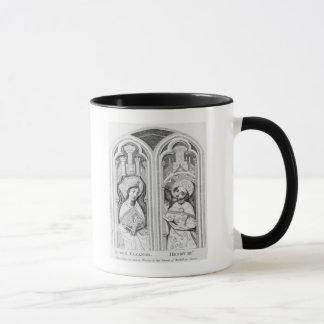 Königin Eleonor und Henry III, altes genommen Tasse