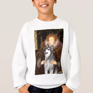 Königin Elizabeth I - alaskischer Malamute Sweatshirt