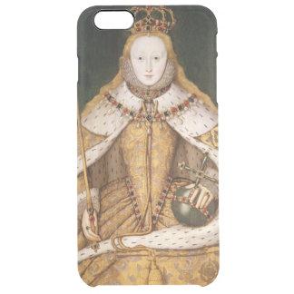 Königin Elizabeth I in den Krönungs-Roben Durchsichtige iPhone 6 Plus Hülle