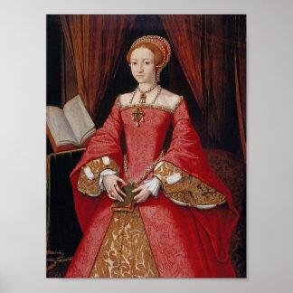 Königin Elizabeth I von England-Druck Poster