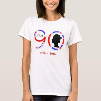 Königin Elizabeth II 90. Geburtstages Englands T-Shirt