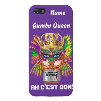 Königin-Karneval-Gumbo-Ansicht deutet bitte an Hülle Fürs iPhone 5
