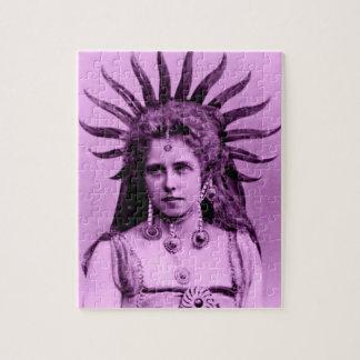 Königin Marie von Rumänien als der Sun-Königin Puzzle
