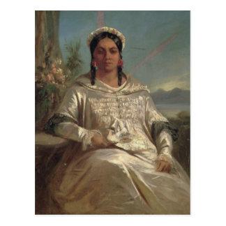 Königin Pomare IV von Tahiti Postkarte