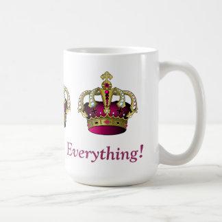 Königin von alles! kaffeetasse
