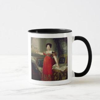 KöniginDona Maria Isabellfarbe de Braganza, 1829 Tasse