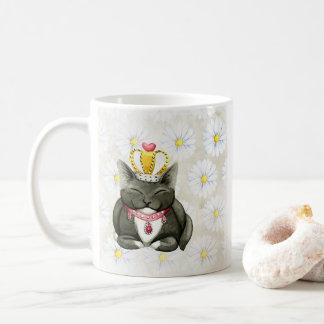 Königinkitty-Katzen-alberne Tasse