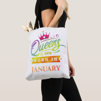 Königinnen sind geborenes im Januar