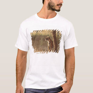 Königlicher bengalischer Tiger auf Blick heraus T-Shirt