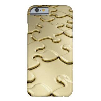 Königlicher einzigartiger goldener Kasten des Barely There iPhone 6 Hülle