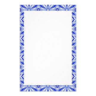 Königliches Blau und mittleres blaues Briefpapier