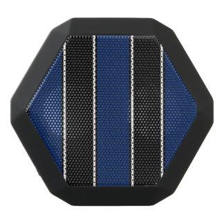 Königliches Blau und Schwarz-Gestreifter Bluetooth Schwarze Bluetooth Lautsprecher