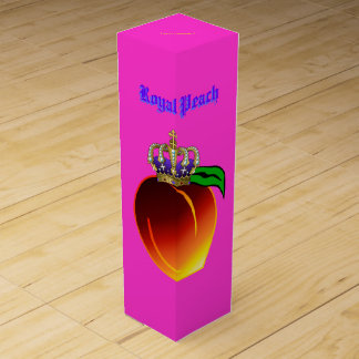Königliches Pfirsich-Getränk-Rezept Weinbox