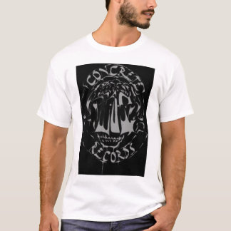 konkrete Abnutzung T-Shirt