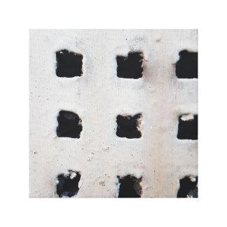 Konkrete industrielle Belüftungsöffnung Gespannter Galeriedruck