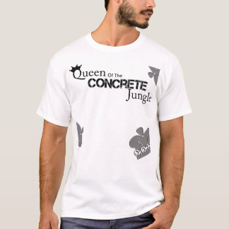 Konkrete Königin T-Shirt