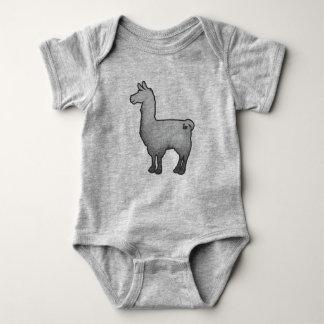 Konkreter Lama-Baby-Bodysuit Baby Strampler