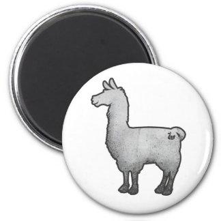 Konkreter Lama-Magnet Runder Magnet 5,7 Cm