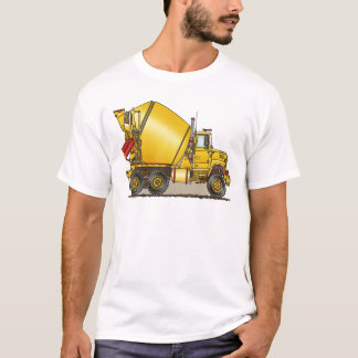 Konkreter LKW bemannt T - Shirt