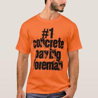 Konkreter pflasternvorarbeiter T-Shirt