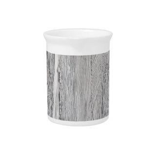 Konkretes Holz Getränke Krüge