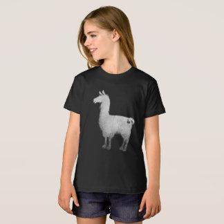Konkretes Lama scherzt T - Shirt