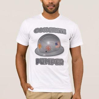 Konkretes Pumpen T-Shirt