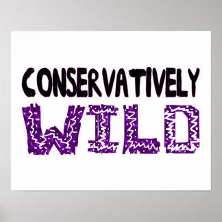 Konservativ wild poster