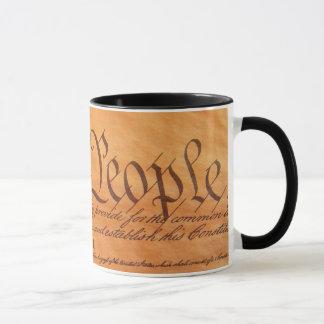 Konstitution der Vereinigten Staaten Tasse
