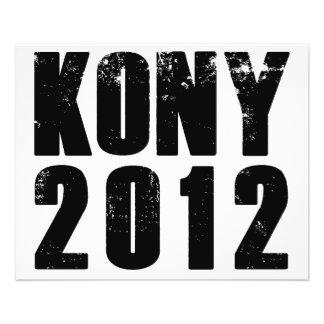 Kony 2012 Halt Joseph Kony 11,4 X 14,2 Cm Flyer