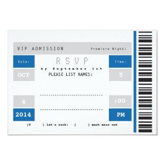 Konzert-Karten-Stummel UAWG 8,9 X 12,7 Cm Einladungskarte