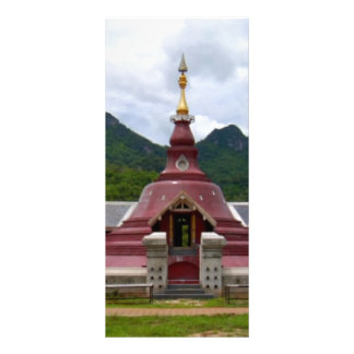 KOOLshades BUDDHA Tempel-Ruhm Werbekarte