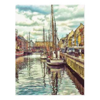 Kopenhagen Dänemark Postkarte