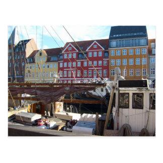 Kopenhagen, Dänemark Postkarte