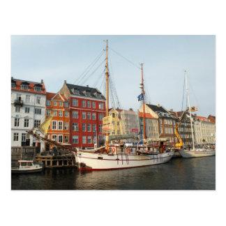 Kopenhagen-Schiff Postkarte