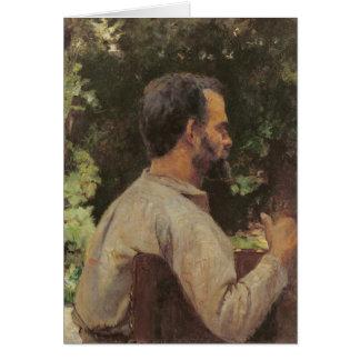 Kopf eines Mannes, Monsieur Etienne Devismes, 1882 Karte