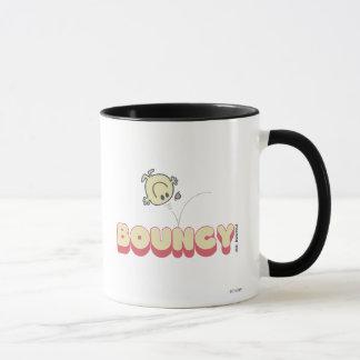 Kopf Herr-Bounce Bouncing On His Tasse