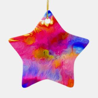 Korallenriff-Formen Keramik Ornament