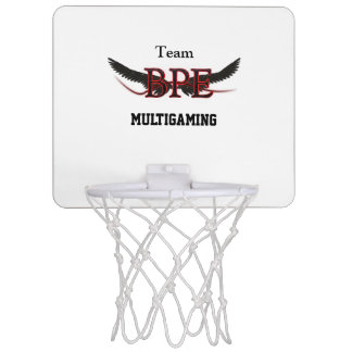 Korb Sportschuh Logo Bpe Mini Basketball Ringe